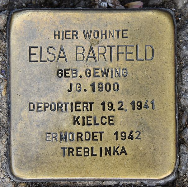 Stumbling Stones Wiener Straße 10