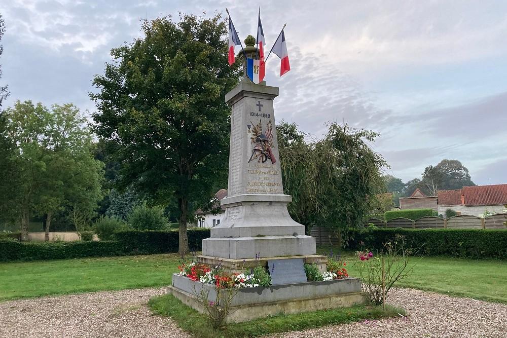Monument Oorlogsslachtoffers Tours-En-Vimeu