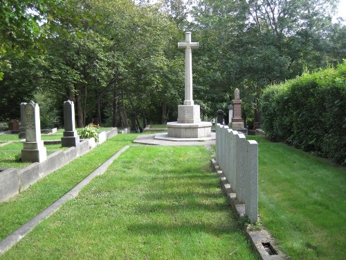 Commonwealth War Graves St. John's General Protestant Cemetery