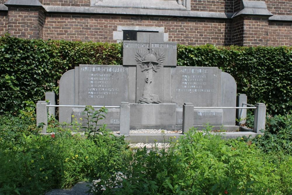 Monument Tweede Wereldoorlog Sint-Huibrechts-Lille