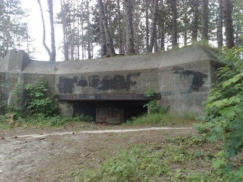 St. 117a. Regiments- oder Bataillonsgefechtsstand Haamstede