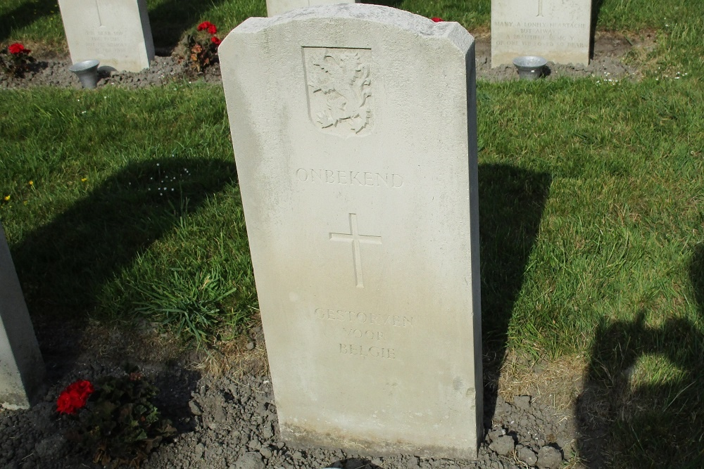 Belgian War Graves General Cemetery Harlingen