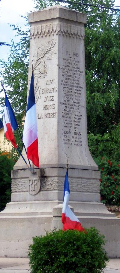 War Memorial Igé