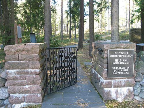 Duitse Oorlogsbegraafplaats Helsinki-Honkanummi