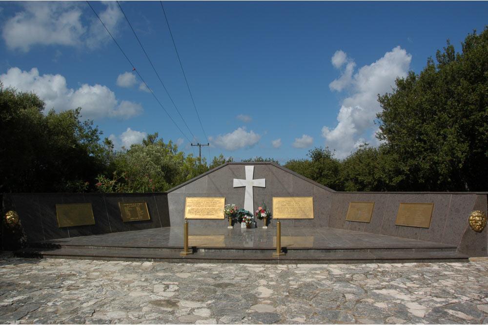 Monument Acqui Divisie Kefalonia