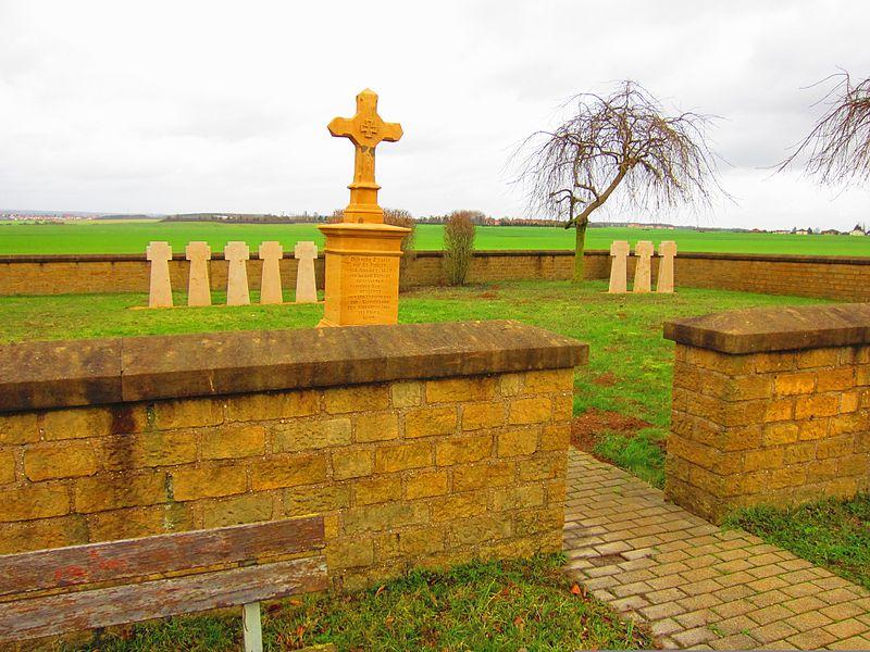 Oorlogsbegraafplaats Frans-Duitse Oorlog Saint-Privat-la-Montagne