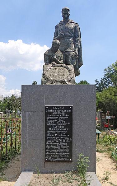 Mass Graves Soviet Soldiers Skadovsk