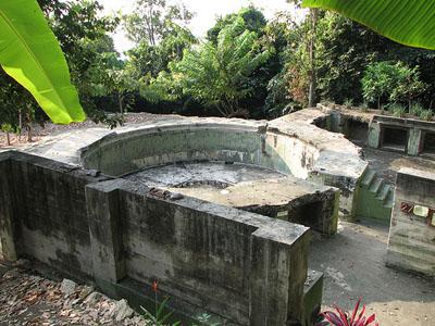 Batu Maung Fort (War Museum Batu Maung)