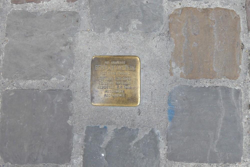 Stumbling Stone Rue des Tanneurs 134