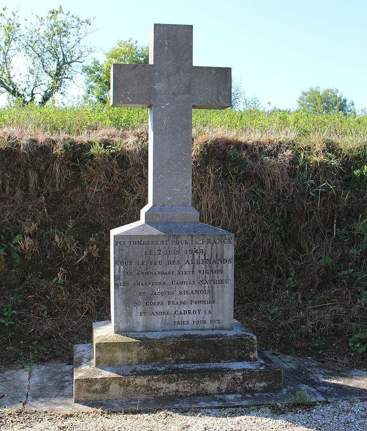 Monument Executie 7 Juli 1944