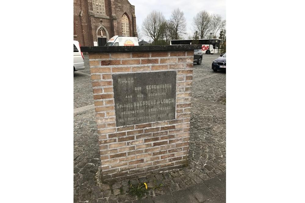 Memorial Stone Colonel Naessens
