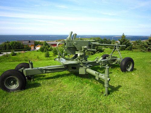 40 mm Bofors Anti-Aircraft Gun Bud