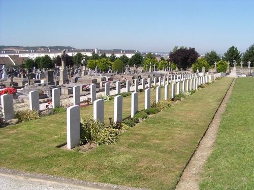 Oorlogsgraven van het Gemenebest Tourlaville