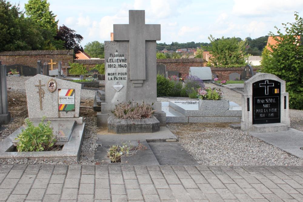 Belgische Oorlogsgraven La Hulpe