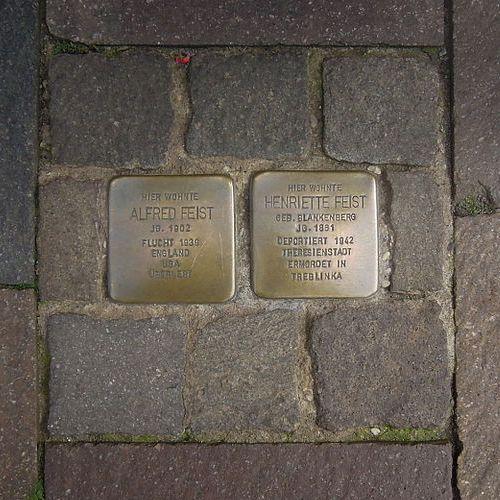 Stolpersteine Lange Straße 76