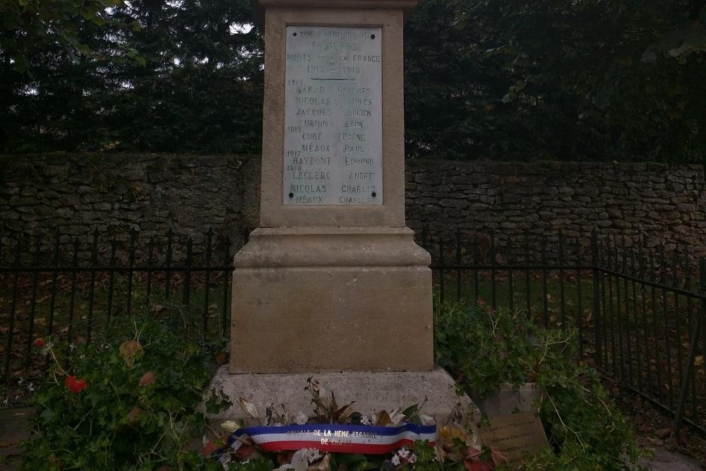 War memorial Rosières-en-Haye