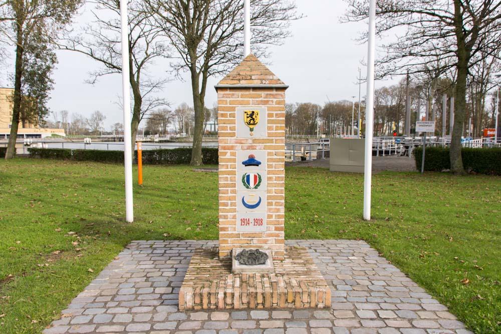 French-African War Memorial Nieuwpoort