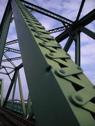 Traces Air Raid Railway Bridge Awanakashima