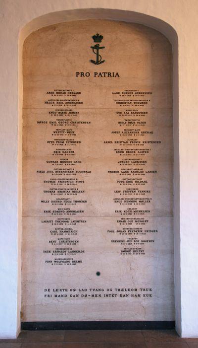 Monument Gesneuvelden van de Deense Marine Kopenhagen