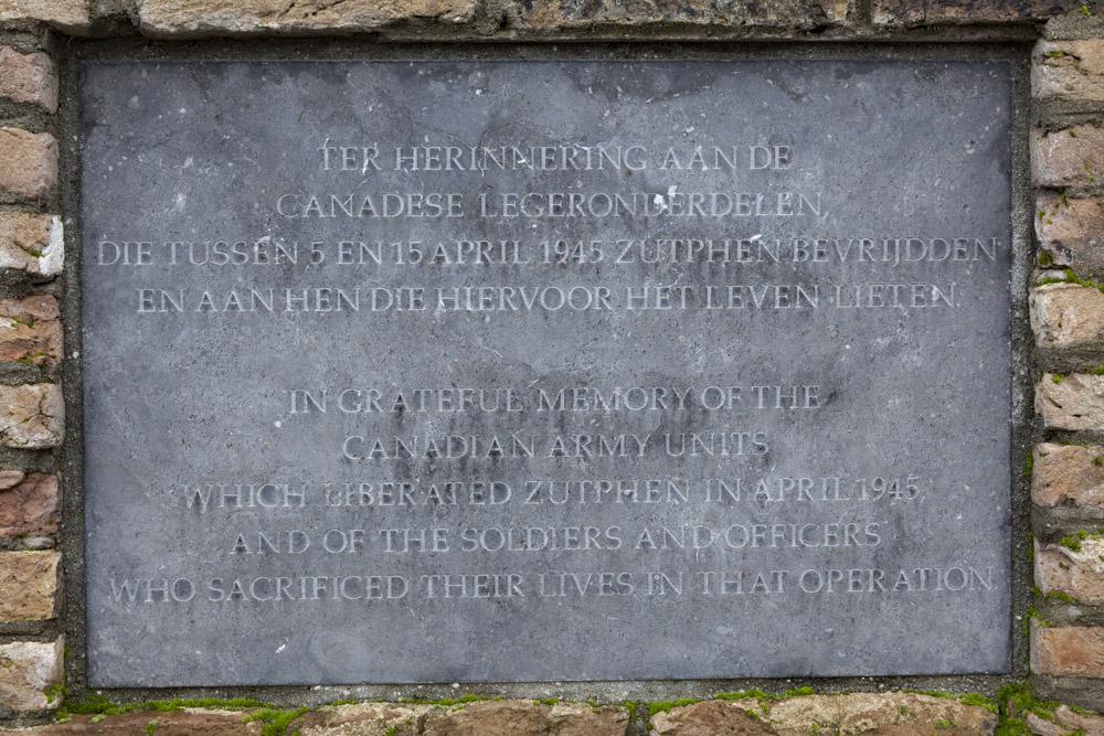 Memorial Canadian Liberators Zutphen