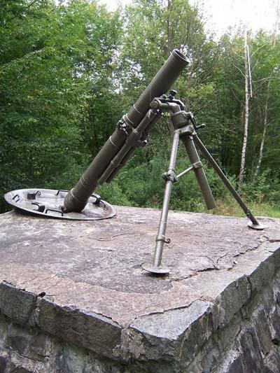 129mm M1938 Mortar Vyšný Komárnik