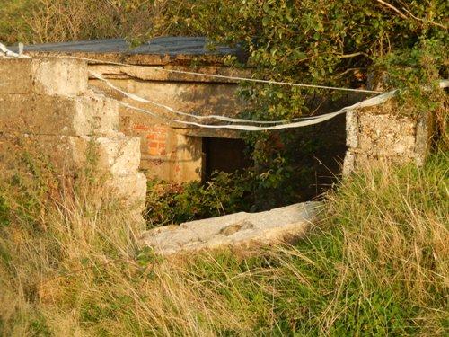 Stützpunkt 244 Franzosenkraut - Fundament Baracke
