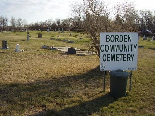 Commonwealth War Grave Borden Cemetery