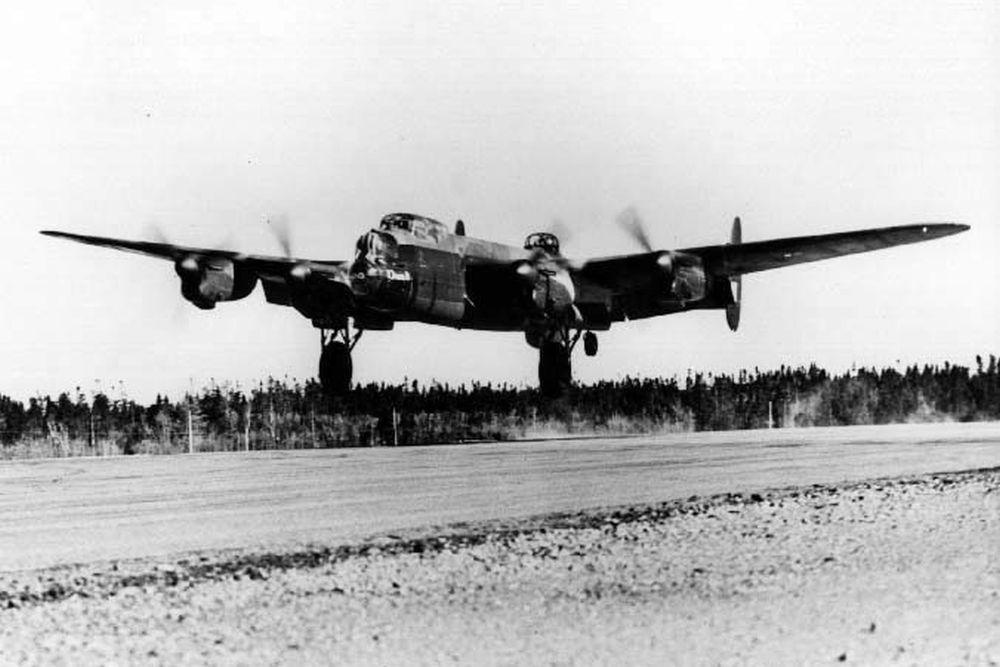 Crashlocatie Lancaster W4191 EM-Q