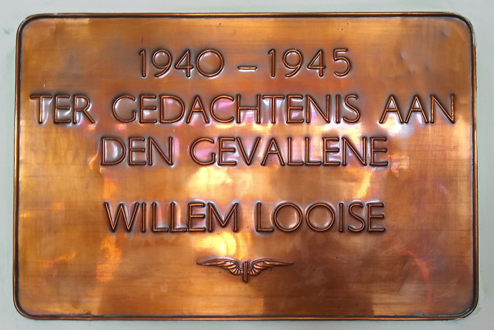 Plaque Willem Looise Vlissingen
