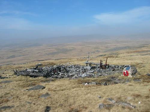 Crashlocatie & Restant Wellington Bommenwerper Tawe-Uchaf