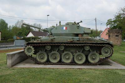 Amerikaanse M24 Chaffee lichte tank