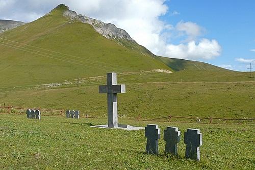 Duitse Oorlogsbegraafplaats Krestowyj Perewal