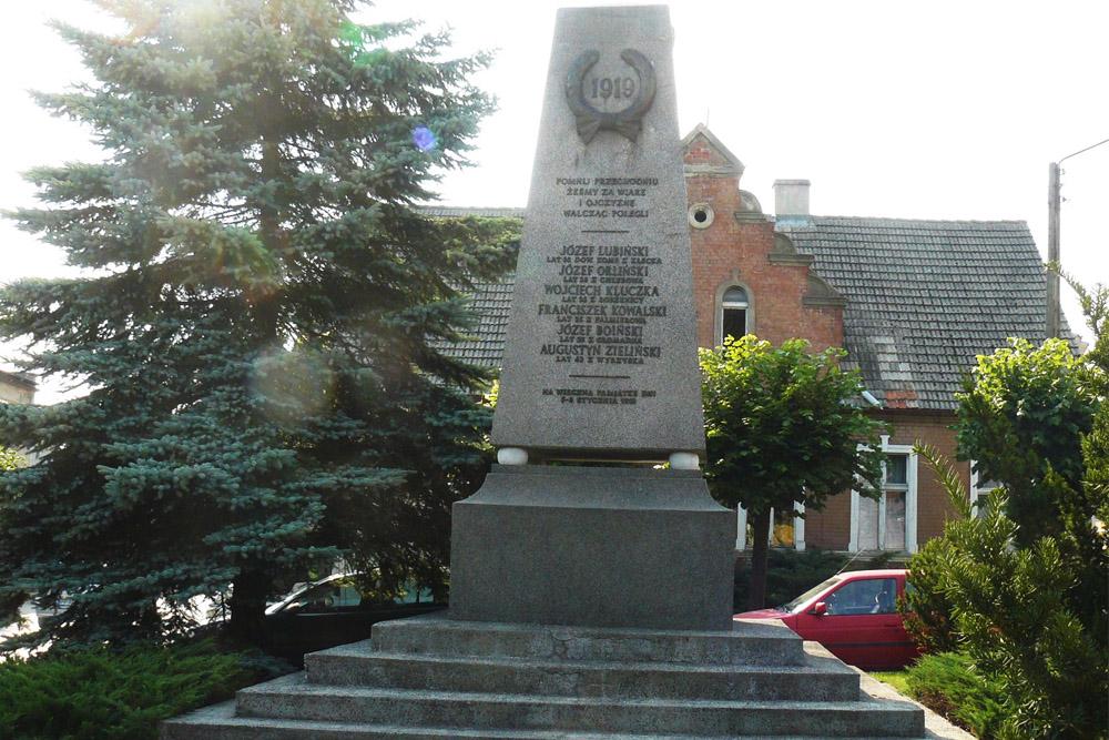 Monument Wielkopolska Opstand Wysoka 1919