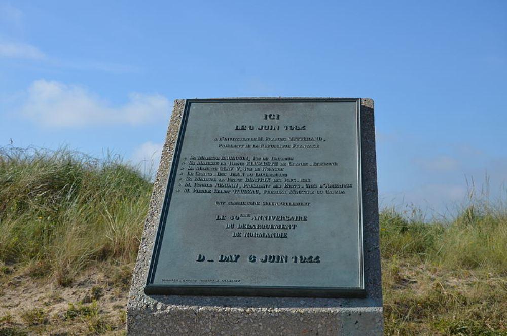 Plaquette 40e Verjaardag Landingen in Normandië