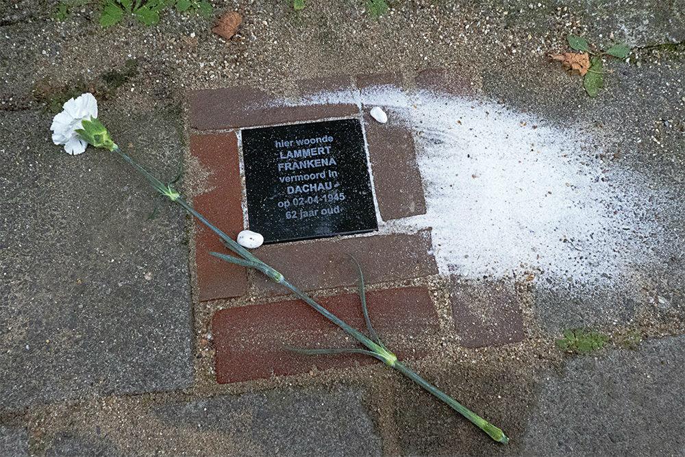 Memorial Stone Spaarnestraat 62