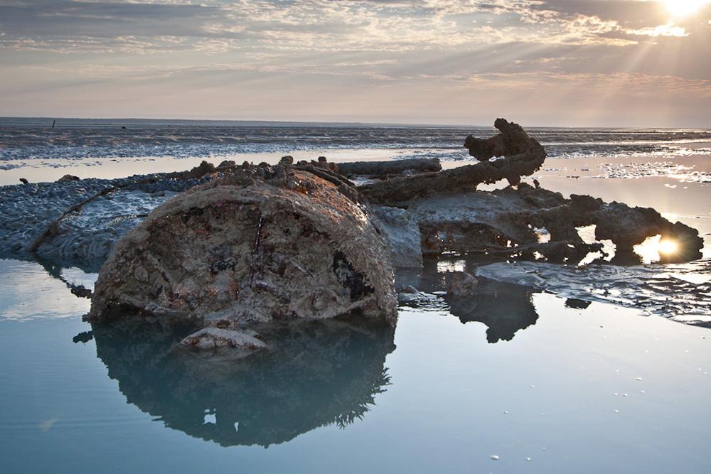 Crash Site & Remains Japanese Flying Boat