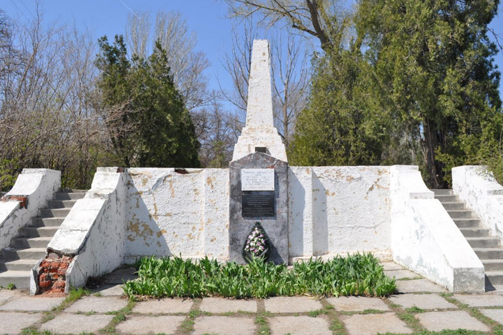 Mass Grave Soviet Soldiers Volgograd