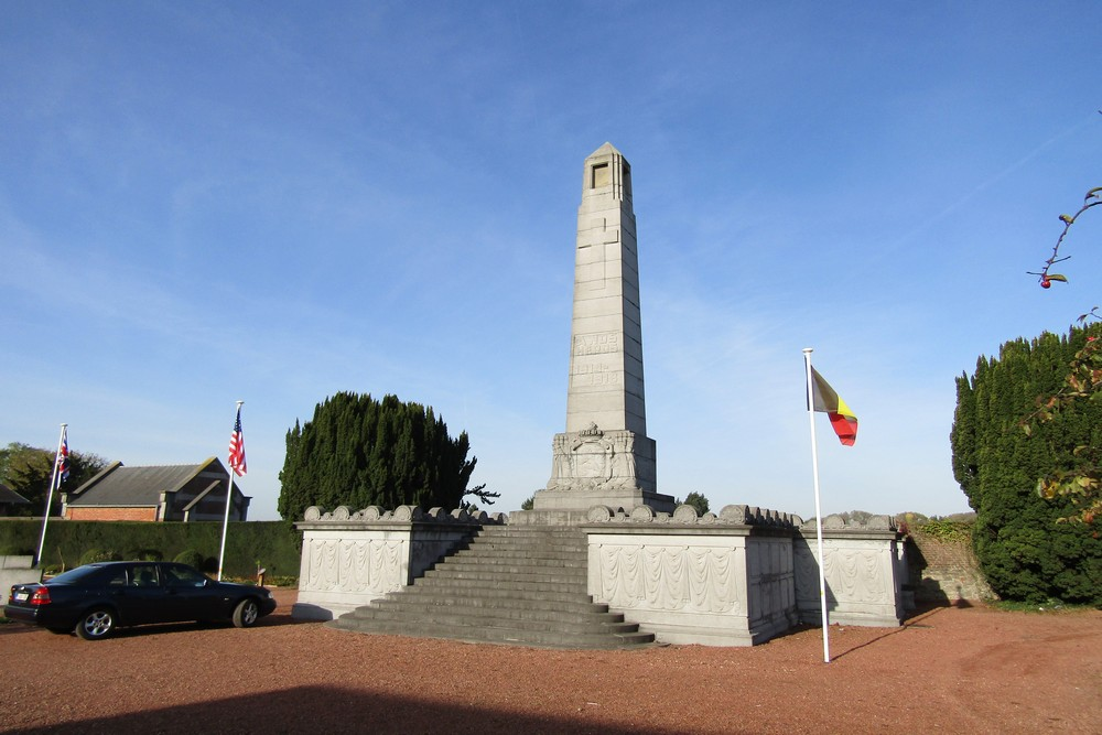 War Memorial and Mausoleum 1914-1918 Soignies