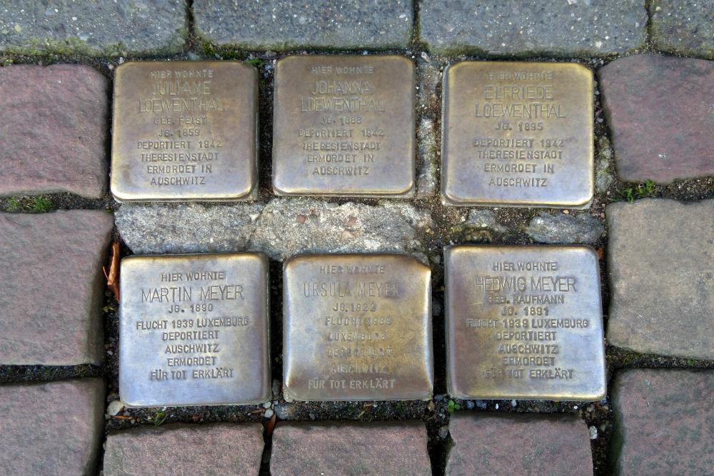 Stumbling Stones Bahnstraße 44