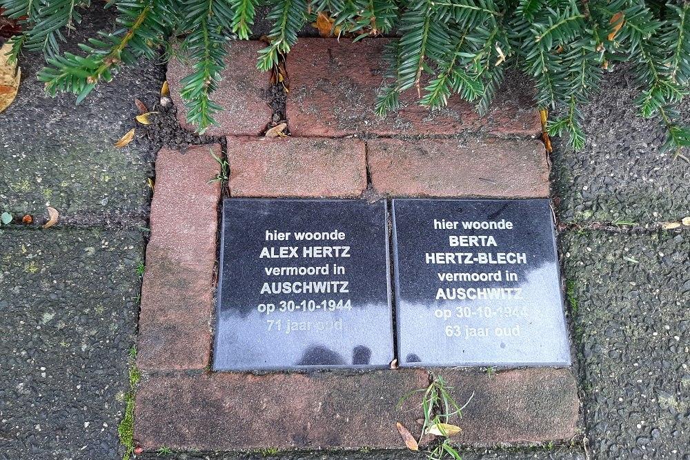 Memorial Stones Celsiusstraat 22