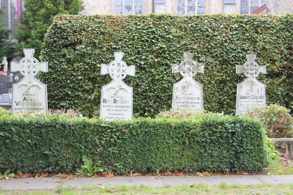Veteran War Graves Alveringem