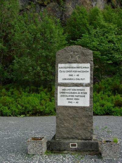Monument Dwangarbeiders Blodveien
