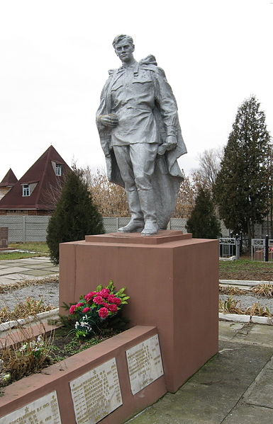 Mass Grave Soviet Soldiers Demydiv