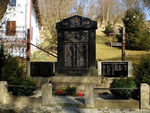 War Memorial Dolní Pasek