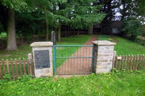 Remembrance Plaque Jewish Cemetery