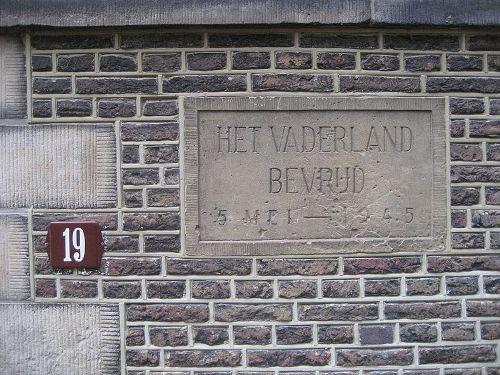 Gevelsteen Bevrijding Nederland