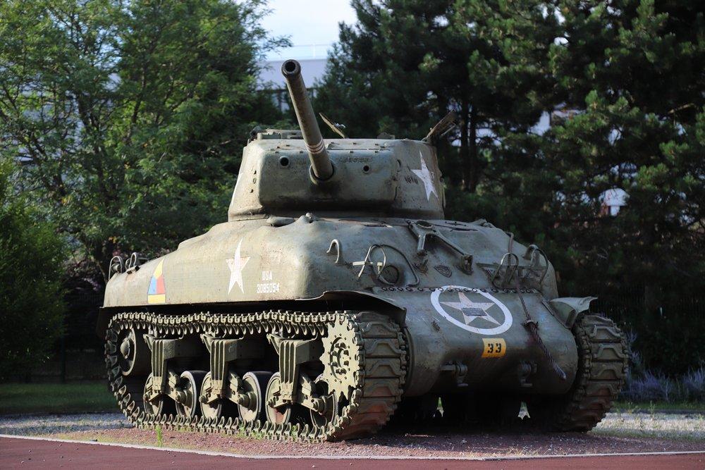 M4A1(76) Sherman Tank Laxou