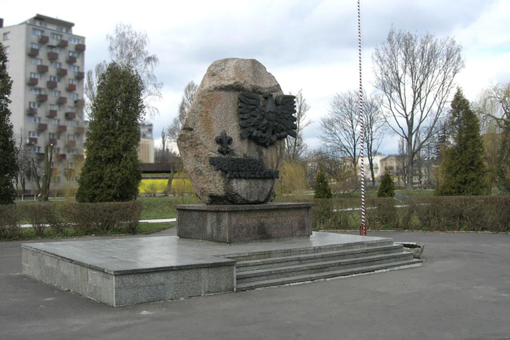 Memorial Grey Wolves Kielce