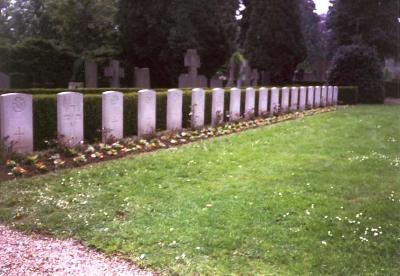 Commonwealth War Graves General Cemetery Sittard