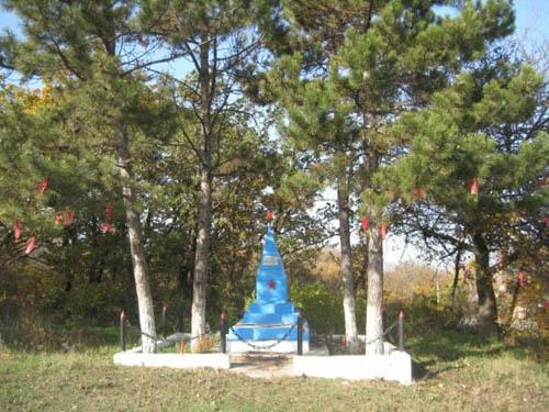 Grave Russian Soldier Simferopol